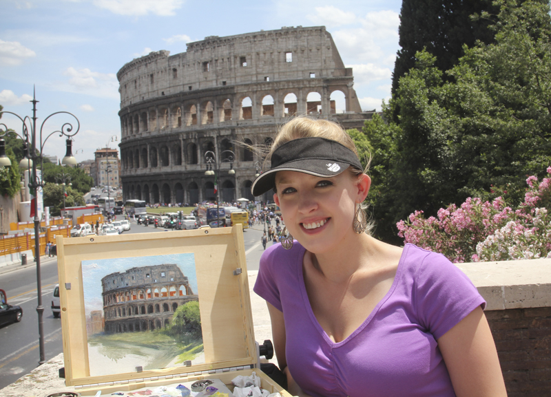 Painting in Rome