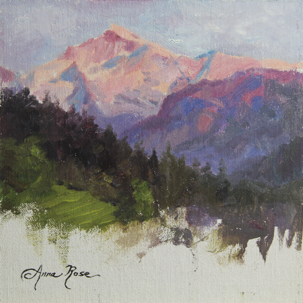 Purple Majesty - Plein Air